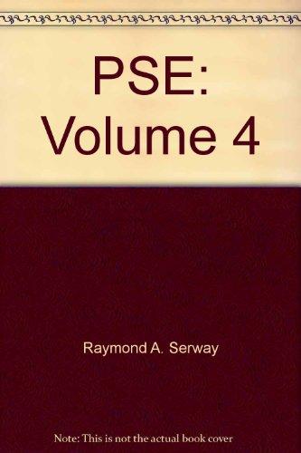 9780030200489: PSE: Volume 4