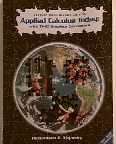 9780030201172: Applied Calculus Today: T1-82 Graph