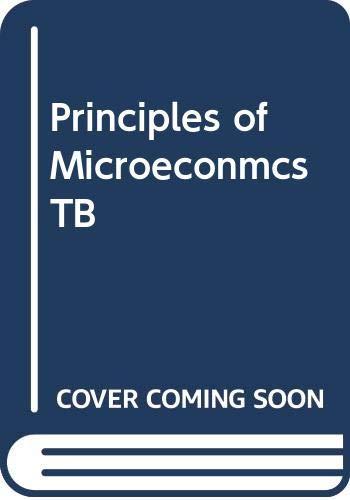 9780030201837: Principles of Microeconmcs TB