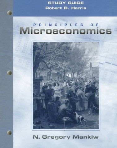 9780030201943: Principles of Microeconomics (Study Guide)