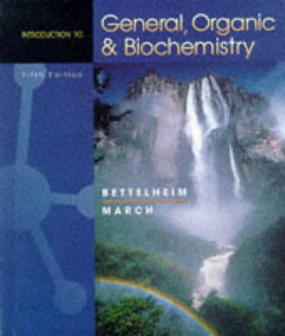 9780030202179: INTRO TO GEN,ORG & BIOCHEM 5E (Saunders Golden Sunburst Series)