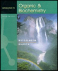 9780030202186: INTRO TO ORGANIC & BIOCHEMISTRY 3E (Saunders golden sunburst series)