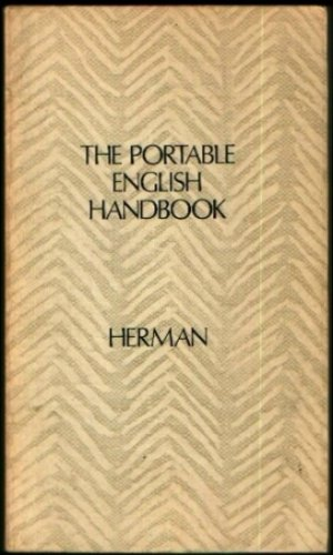 9780030202568: The portable English handbook: An index to grammar, usage, and the research paper