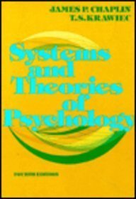 9780030202711: Systems and Theories in Psychology