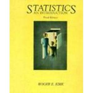 9780030204241: Statistics: An Introduction