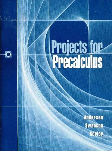 9780030204449: Projects for Precalculus
