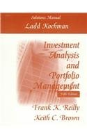 Student Solution Manual to accompany Investment Analysis: Reilly, Frank K.,