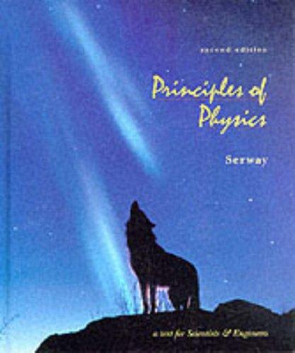9780030204579: Principles of Physics (Saunders golden sunburst series)