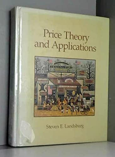 9780030205897: Landsburg Price Theory & Applications (Dryden Press series in economics)