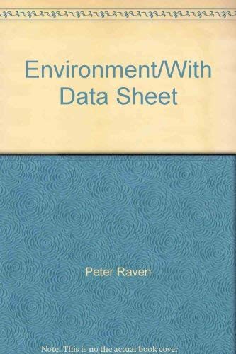 9780030208041: Environment/With Data Sheet