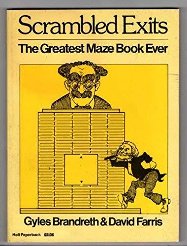 9780030208515: Scrambled exits: The greatest maze book ever