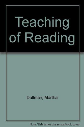 9780030208768: Teaching of Reading