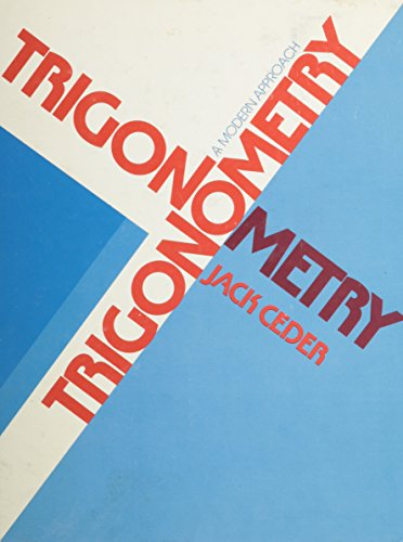 9780030209017: Trigonometry: A modern approach