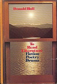 9780030210068: To read literature, fiction, poetry, drama