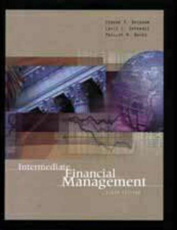 9780030210280: Intermediate Financial Management (Dryden Press Series in Finance)