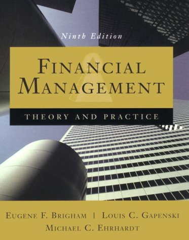 9780030210297: Financial Management: Theory and Practice (Dryden Press Series in Finance)