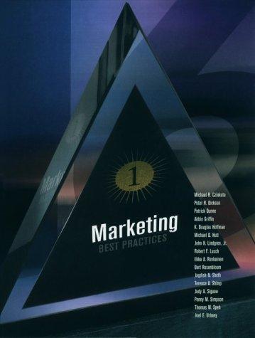 Marketing: Best Practices: K. Douglas Hoffman,