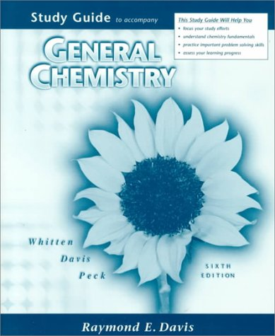 9780030212321: General Chemistry Study Guide 6e