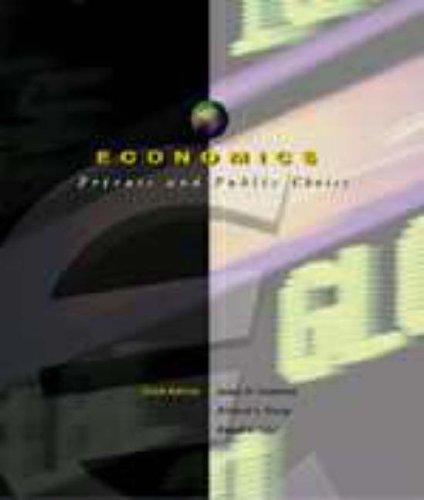 9780030212833: Economics: Private and Public Choice (Economics: Private & Public Choice)
