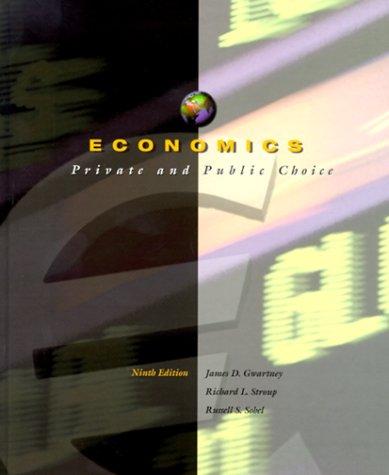 9780030212833: Economics: Private and Public Choice