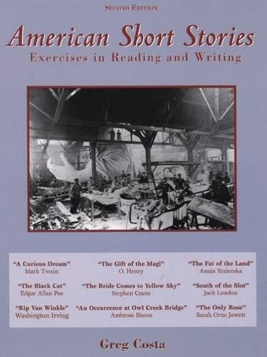 9780030213342: American Short Stories: Exercises in Reading and Writing