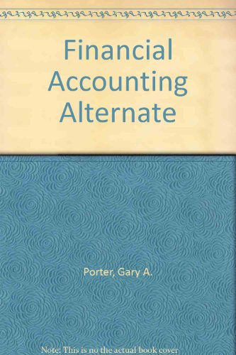 9780030213397: Financial Accounting Alternate