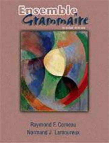 9780030213694: Ensemble: Grammaire
