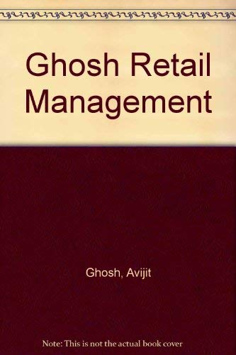 9780030215124: Ghosh Retail Management (The Dryden Press series in marketing)