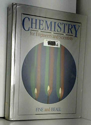 9780030215377: Chemistry for Engineers and Scientists (Saunders golden sunburst series)