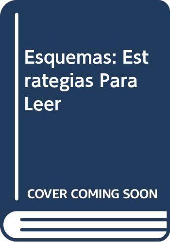 9780030215940: Esquemas: Estrategias Para Leer (English and Spanish Edition)