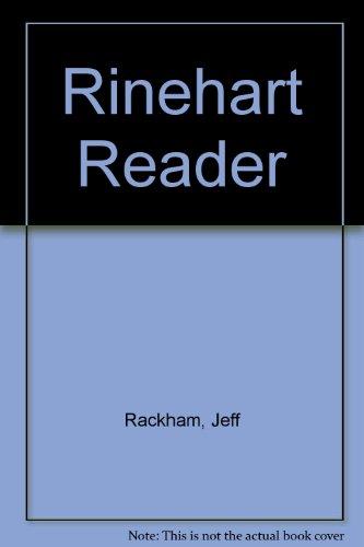 9780030216091: Rinehart Reader