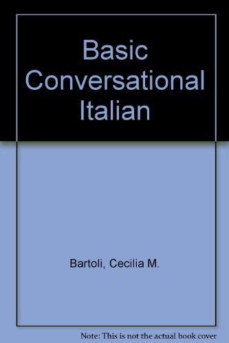9780030216817: Basic Conversational Italian (English and Italian Edition)