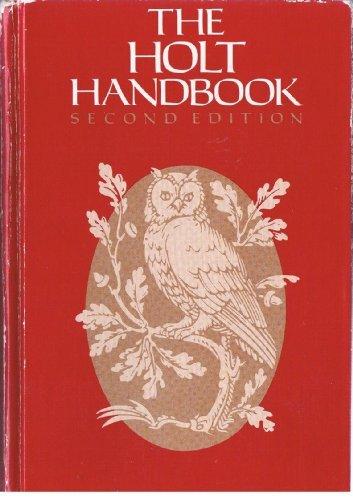 9780030217029: Kirszner the Holt Handbook 2e