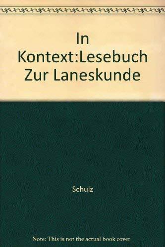 9780030217920: Im Kontext: Lesebuch Zur Landeskunde (German Edition)