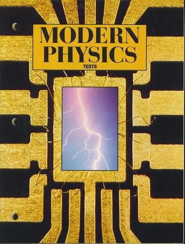 9780030218934: MODERN PHYSICS Tests