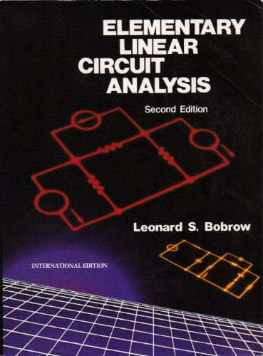9780030219528: Elementary Linear Circuit Analysis
