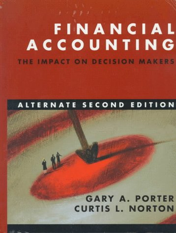 9780030220531: Financial Accounting: The Impact on Decision Makers : Alternate Second Edition/Ben & Jerry's 1996 Annual Report