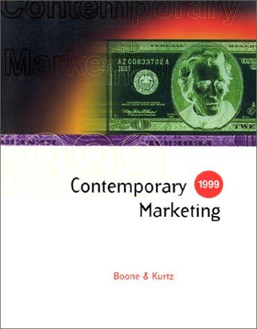 9780030221828: Contemporary Marketing 1999