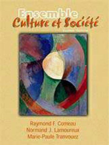 9780030222467: Ensemble: Culture Et Societe
