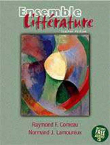 9780030222481: Ensemble: Litterature