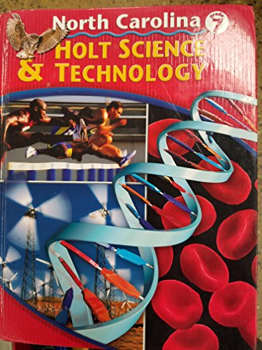 9780030222627: Holt Science and Technology North Carolina: Student Edition Grade 7 2005