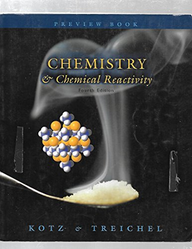 9780030222948: PREVIEW EDITION:CHEMISTRY/CHEMICAL REACTIVITY 4E