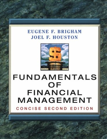 9780030223198: Fundamentals of Financial Management: Concise (2nd ed) (Dryden Press Series in Finance)