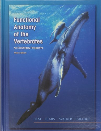 9780030223693: Functional Anatomy of the Vertebrates: An Evolutionary Perspective