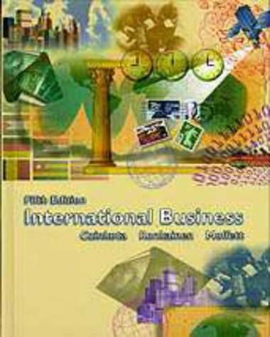 International Business (The Dryden Press Series in Management) (9780030223785) by Michael R. Czinkota