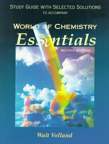 9780030223921: Study Guide for Joesten/Wood's World of Chemistry Essentials