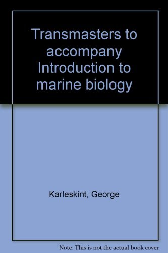9780030224096: Transmasters to accompany Introduction to marine biology