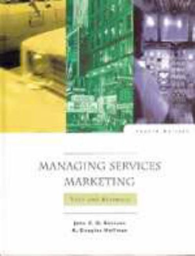 9780030225192: Managing Services Marketing: Text and Readings (The Dryden Press Series in Marketing)