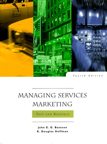 9780030225192: Managing Services Marketing: Text and Readings (Dryden Press Series in Marketing)