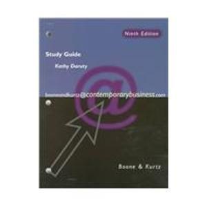 9780030226090: Contemporary Business: Study Guide